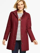 Talbots Quilted Coat