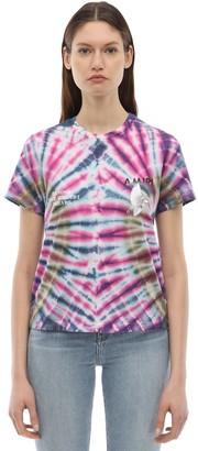 Amiri Tie Dye Cotton Jersey T-shirt
