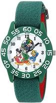 Disney Boy's 'Mickey Mouse' Quartz Plastic and Nylon Casual Watch