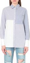 SteveJ & YoniP STEVE J & YONI P Multi-stripe cotton shirt