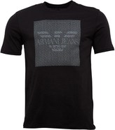 Armani Jeans Mens T-Shirt Black