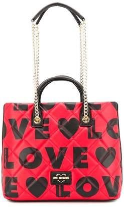 Love Moschino Love shopper tote
