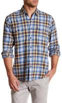 James Campbell Baxter Plaid Regular Fit Shirt