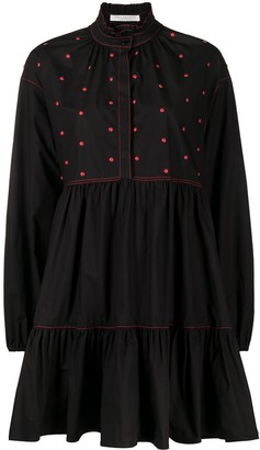 Philosophy di Lorenzo Serafini Embellished Flared Shirt Dress