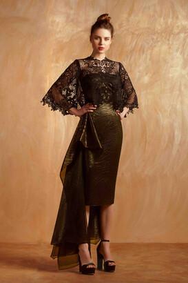 Gemy Maalouf 2-Piece Strapless Cocktail Dress