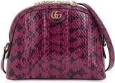 Gucci Ophidia Snakeskin Shoulder Bag