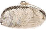 Judith Leiber Crystal-Embellished Fish Minaudière