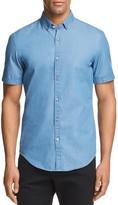 HUGO BOSS Rik Chambray Slim Fit Button-Down Shirt