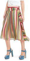 N°21 N.21 Striped Midi Skirt