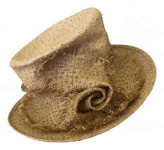 Philip Treacy Beige Wicker Hats