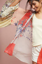 Anthropologie Georgette Ruffle Kimono