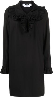 MSGM Ruffle-Collar Dress