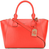 Lauren Ralph Lauren trapeze tote - women - Leather - One Size
