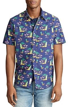 Polo Ralph Lauren Classic Fit Tropical Short-Sleeve Shirt