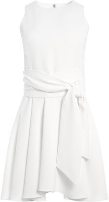 Alice + Olivia Wesley Flare Mini Dress