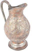 Indian Shelf IndianShelf Handmede Decorative Brass Hand Made Folk Art Copper Pitcher