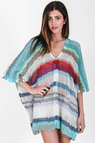 Goddis Eliza Poncho In Blue Bird S/M