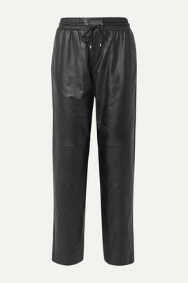 Kenzo Leather Track Pants - Black