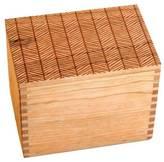 Herringbone Recipe Box + Cards