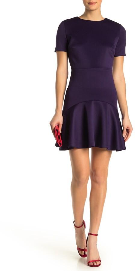 Alexia Admor Monica Ruffle Hem Dress