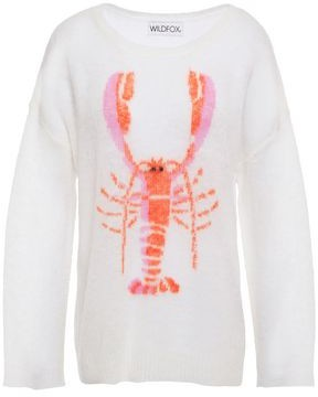 Wildfox Couture Rock Lobster Intarsia-knit Sweater