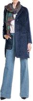 Etro Mohair-Wool Blend Coat
