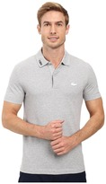 Lacoste Short Sleeve Clean Seams Pique w/ Rubber Croc