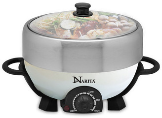 Narita Stainless Steel Hot Pot With Grill