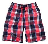 Osh Kosh OshKosh BGosh Boys' 2T-7 Red Plaid Pull On Shorts