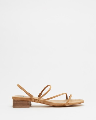 Dazie - Women's Brown Strappy sandals - Raven Heels - Size 5 at The Iconic