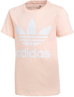 adidas Children'sTrefoil T-shirt - Pink