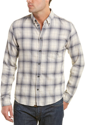 Billy Reid Kirby Slim Fit Woven Shirt