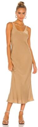 Line & Dot Ariel Scoop Neck Dress