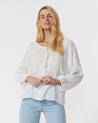 Ids Cambria Peasant Blouse