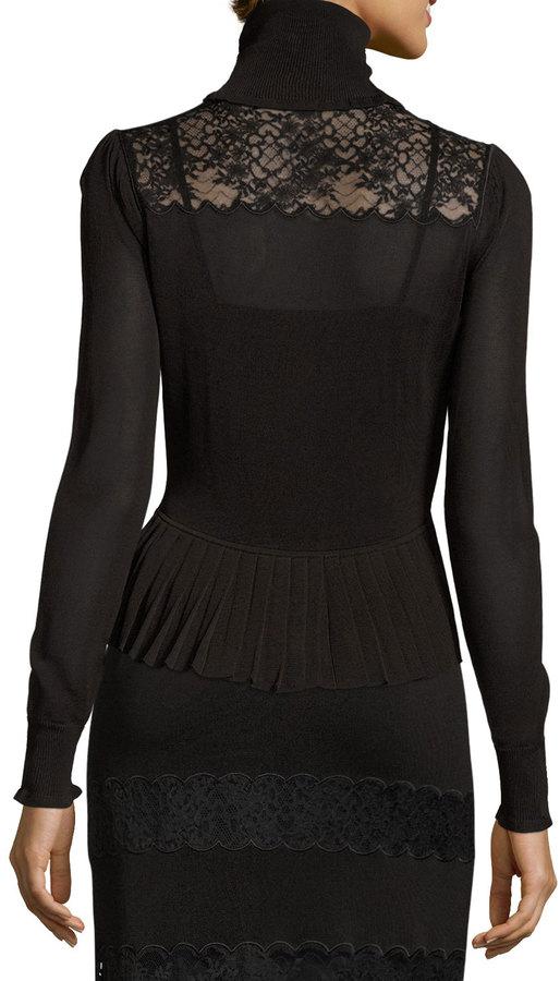Rachel Zoe Rikki Paneled Lace Maxi Skirt