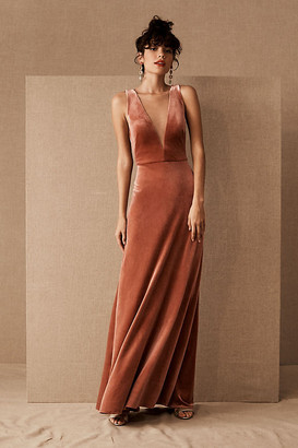 Anthropologie Logan Dress By in Brown Size 8