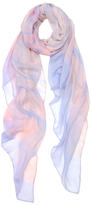 Elizabeth Gillett Flight Watercolor Modal Wrap Scarf