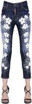 DSQUARED2 Londean Flower Printed Denim Jeans