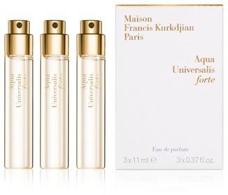 Francis Kurkdjian 3-Piece Aqua Universalis forte Eau de parfum Refill Set/0.37 oz