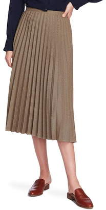 Court & Rowe Mini Houndstooth Print Pleated Skirt
