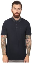 Ben Sherman Short Sleeve Micro Paisley Print Collar Polo
