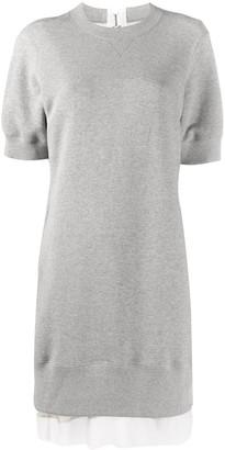 Sacai Long-Line Sweatshirt