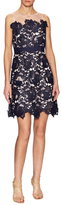 Adrianna Papell Three Dimensional Floral Cocktail Dress