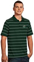 Antigua Men's Minnesota Wild Deluxe Striped Desert Dry Xtra-Lite Performance Polo