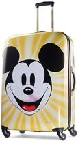 American Tourister Disney's Mickey Mouse Face 28-Inch Hardside Spinner Luggage