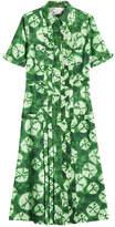 Stella Jean Batik Print Shirt Dress