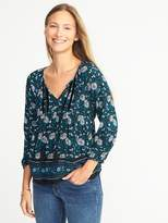 Old Navy Lightweight Boho Swing Top for Women