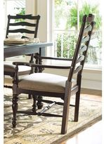 Paula Deen Home Mike's Arm Chair in Tobacco Finish (Set of 2)