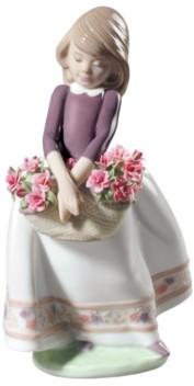 Lladro May Flowers Girl Figurine