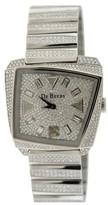 De Beers Talisman 18K White Gold Diamond Womens Watch